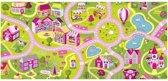 Kindervloerkleed meisjes SWEET TOWN 140x200