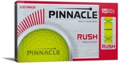 Pinnacle Rush Golfbal 12-Pack Geel