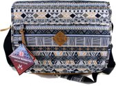 Enrico Benetti Afrika Tribal Messenger Bag  Laptop Vak - multi