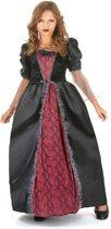 Rood en zwart vampierskostuum voor meisjes - Verkleedkleding