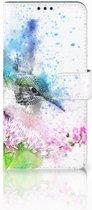 Huawei P Smart Plus Boekhoesje Design Vogel