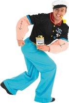 Popeye - Kostuum - Maat XL - Blauw