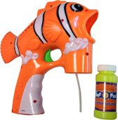 Clownvis bellenblaas pistool - Verkleedattribuut - One size