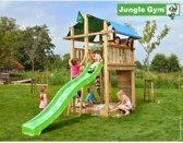 Jungle Gym Speeltoren met Glijbaan (lichtgroen) Fort