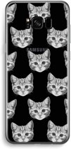 Samsung Galaxy S8 Plus Transparant Hoesje (Soft) - Kitten