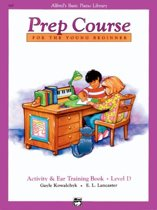 Alfred's Basic Piano Prep Course Activity & Ear Training, Bk D