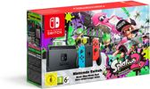 Nintendo Switch Console Splatoon 2 Bundel 32 GB - Blauw/Rood