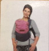 By kay click carrier reversible steel grey - cotton candy
