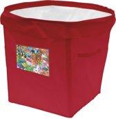 Achoka Persoonlijke Opbergbox 35 Liter Rood