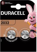 Duracell CR2032 Lithium Batterijen 3V / 2 Stuks