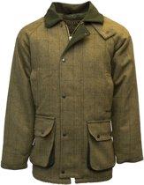 Tweed jas - light sage - S