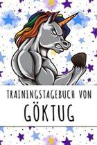 Trainingstagebuch von G�ktug: Personalisierter Tagesplaner f�r dein Fitness- und Krafttraining im Fitnessstudio oder Zuhause