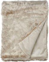 Snoozing Tuva fleece plaid Ivoor 150x200 cm