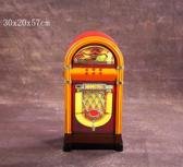 Opbergkast wandkast meubel Jukebox retro vintage