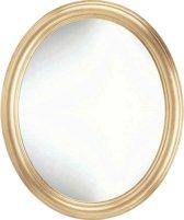 Ovale Sier spiegel Colin Buitenmaat 59x69cm Goud