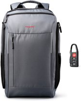Tigernu Traveler - laptop rugzak - anti diefstal - 12,5' tot 15,6' inch - grijs