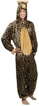 Onesie Volwassenenkostuum - Pluche Giraffe - Kostuum - Maat M-L