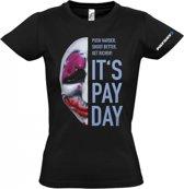 Payday 2 Girl-Shirt Hoxton Mask (Maat L)