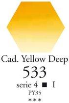 SennelierLaquarelle halve napjes cadmium donkergeel N131541.533