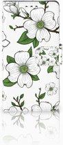 Sony Xperia XZ1 Case Design Dogwood Flowers