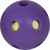 Flamingo Hondenspeelgoed Ball + Tennisbal - Paars/Geel - 6 x 6 x 6 cm