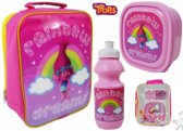 TROLLS Lunch Set Broodtrommel Drinkbeker Lunchtas De Trollen