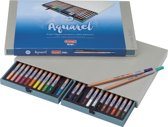 Design Aquarel box 24 aquarelpotloden met penseel