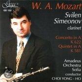 Simeonov / Amadeus Orchestra - Mozart/ Concerto In A,Quintet In A