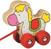 Goki houten paard trekdier