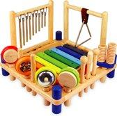 Afbeelding van Im Toy Houten Muziekcenter speelgoed
