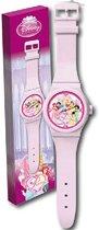 Disney Prinsessen - Klok - Langwerpig - 20x92 cm - Roze