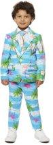 OppoSuits Flaminguy - Jongens Kostuum - Gekleurd - Carnaval - Maat 110/116