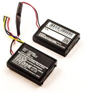 Batterij voor for Beats Pill 2.0, Li-ion, 7,4V, 850mAh, 6,3Wh, built-in, 2 connected cells