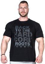 Bodybuilding T-Shirt Zwart - Nebbia Hard Core T-Shirt 391
