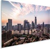 Skyline van Beijing Plexiglas 90x60 cm - Foto print op Glas (Plexiglas wanddecoratie)
