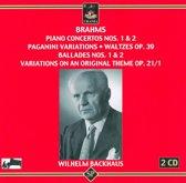 Brahms: Piano Concertos 1 & 2, Paga