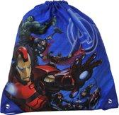 Marvel Avengers - Gymbag - 35cm - blauw