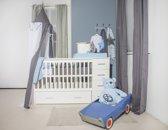 Bebies First Sandy - Ledikant 60x120 cm + Commode - Wit