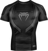 Venum Technical 2.0 Rashguard Short Sleeves Zwart-XL