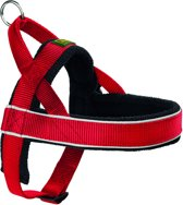Hunter Harnas Norweger Racing Nylon - S - 42-53 x 2.0 x 2 cm - Rood