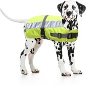 Flectalon Hondenjas Reflecterend - 25 cm - Geel