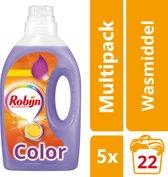 Robijn Vloeibaar Color wasmiddel - 110 Wasbeurten - Kwartaalbox