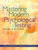 Mastering Modern Psychological Testing