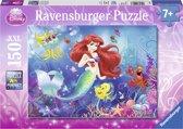 Ravensburger puzzel Disney PrincessIedereen houdt Arielle - Legpuzzel - 150 stukjes