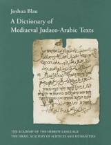 A Dictionary of Mediaeval Judaeo-Arabic Texts