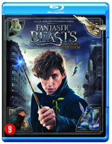 DVD cover van Fantastic Beasts And Where To Find Them (Blu-ray)