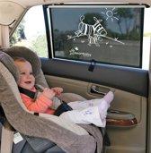 Dreambaby auto zonnescherm Zebra | extra breed 50cm