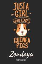 Just A Girl Who Loves Guinea Pigs - Zendaya - Notebook
