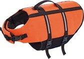 Nobby hondenzwemvest met handlus - Oranje - Maat XL