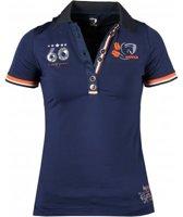 Horka Jersey Shirt Blauw-XL